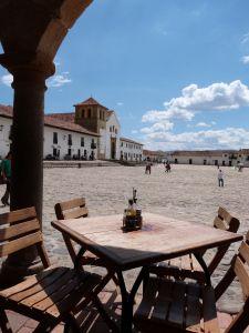 View over Main Square, Villa de Leyva, Colombia
