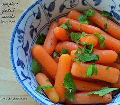 These delicious glazed carrots are bunny approved! Made using the sous vide method, they couldn't be simpler or more scrumptious. Stovetop recipe also included.