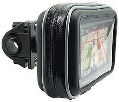 Navitech Cycle / Bike / Bicycle / Motorbike Waterproof holder mount and case for GPS satnav models up to 4.3 inches by Navitech. $16.88