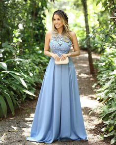 Shop jewel dusty blue lace bodice pleated satin prom dress at affordable price, free custom size and color, fast shipping! Blue Graduation Dresses, Prom Dresses Blue, Ball Dresses, Evening Dresses, Formal Dresses, Wedding Dresses, Dresses 2016, Vestidos Azul Serenity, Tulle Prom Dress