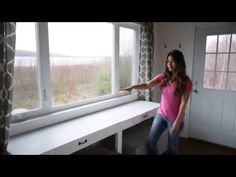 DIY Convertible Desk-Space Saving Idea -