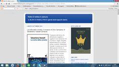 La notte della cometa. Il romanzo di Dino Campana, di Sebastiano Vassalli (Einaudi) http://nottedinebbiainpianura.blogspot.it/2014/09/la-notte-della-cometa-il-romanzo-di.html