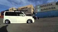 Black and white box Scion xB Toyota bB   ThinkSquare