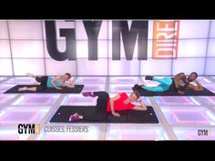Cuisses, fessiers - Renforcement musculaire - 138 - YouTube