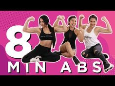 Join me and the incredible Bella Twins for a super effective 8 minute at home abdominal workout! Nikki and Brie are professional wrestlers, entrepreneurs, and basically the coolest women ever so it wa