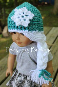 Disney's Frozen Elsa Crochet Hat pattern for by thecozybuckeye