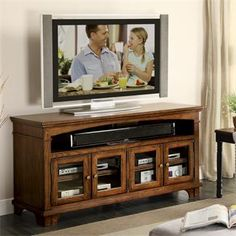 Promenade 60 In TV Console By Riverside Furniture   Fashion Furniture   TV  Or Computer Unit Fresno, Madera, Clovis | For The Home | Pinterest |  Consoles