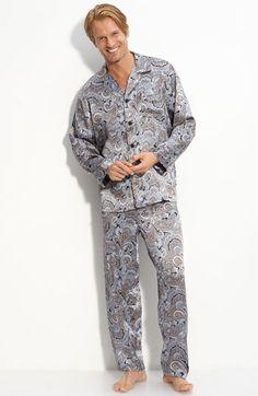 5e40b24f1c Majestic International Paisley Silk Pajamas