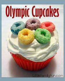 Olympics Cupcakes 13 Creative Olympic Party Ideas via Pretty My Party Office Olympics, Kids Olympics, Special Olympics, Summer Olympics, Beer Olympics Party, 2020 Olympics, Tokyo Olympics, Team Usa, Olympic Idea