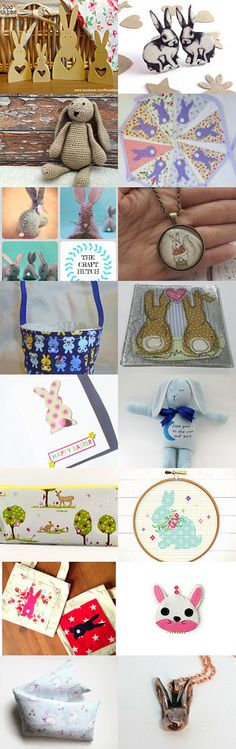 Bunny Love by Enchanting Designs on Etsy