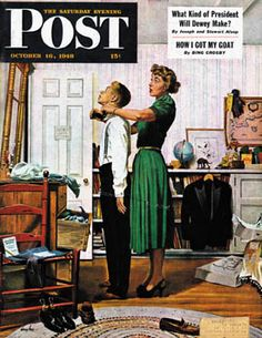 Oct 16 1948 Cover Art by George Hughes