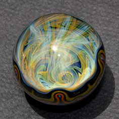 Glass Marble 1414 by theglasselevator on Etsy, $250.00