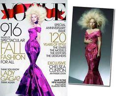 Gaga get photoshopped