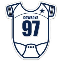 Dallas Cowboys Inspired Football Baby Shower Invitation 4x8