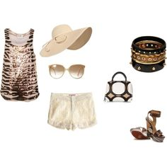 Night time/Summer time, created by lacyh on Polyvore
