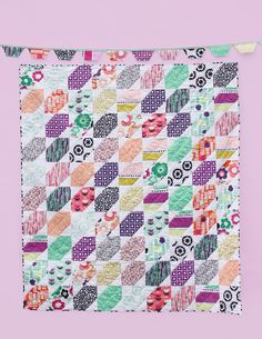 Fabric Project Lookbook featuring Geometric Bliss by Jeni Baker. A blissful collection of folk inspired florals and edgy geometric prints full of movement. Explore bold color combinations and design that's a perfect mix of modern and retro.