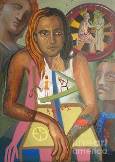 Ludus II, by MAIA OPREA, more on www.maia-fine-art.com