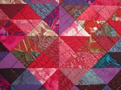 Detail, triangles and beads by Ann Fahl