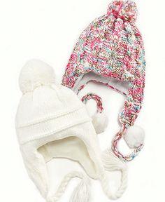 So Jenni Kids Hat, Girls Knit Hat - - Macy's