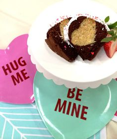 Surprise your loved ones when they cut into this hidden #heart #cake on #ValentinesDay!