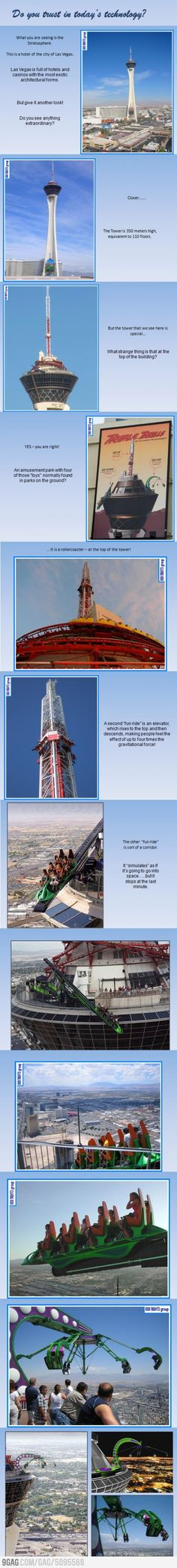 A tower in Vegas