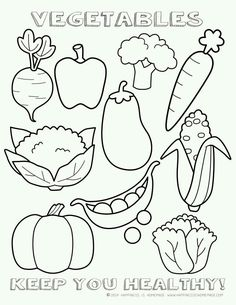 Vegetable Coloring Pages Picture healthy vegetables coloring page sheet printable i tried Vegetable Coloring Pages. Here is Vegetable Coloring Pages Picture for you. Vegetable Coloring Pages healthy vegetables coloring page sheet printable . Vegetable Coloring Pages, Fruit Coloring Pages, Colouring Pages, Printable Coloring Pages, Coloring Sheets, Coloring Books, Coloring Worksheets, Free Worksheets, Garden Coloring Pages