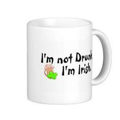 Funny Coffee Quotes | Funny Irish Quotes Mugs, Funny Irish Quotes Travel & Coffee Mug