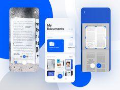 Linkedin App, Scan App, App Ui Design, Concept, Mobile Ui, Graphic Design, Visual Communication