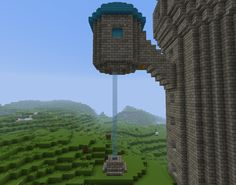 #Minecraft can get a little dull without a project or two to take on. Visit this hub for advice on how to build a gorgeous and simple fountain. If you want to get complex, try making a tower extension like in the picture above!