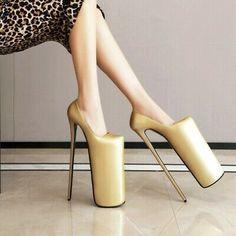 Women Super High Heel Stiletto Platform Sexy Clubwear Shoes Slip on Pumps Slip On Pumps, Platform High Heels, High Heels Stilettos, High Heel Boots, Women's Pumps, Pump Shoes, Stiletto Shoes, Women's Shoes, Shoe Manufacturers