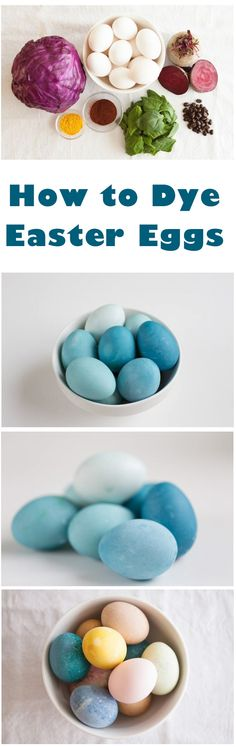 Homemade Easter Egg Dye  You don't need to buy any Easter egg dye kits anymore. Use this natural food colouring and make beautiful DIY colourful eggs. | Easter Egg Ideas