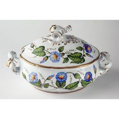 Anna Weatherley Morning Glory Oval Soup Tureen