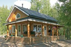Annenranta log cabin holiday home