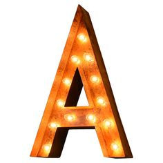 Letter Indoor/Outdoor Marquee Light at Joss and Main