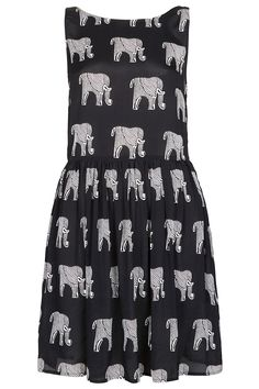 Elephant Ladder Back Dress - Slips & Sun Dresses - Dresses - Clothing - Topshop