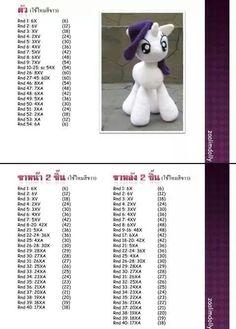 Creations to make you smile crochet patterns & more by Anne Alster Crochet Gratis, Cute Crochet, Crochet Dolls, Crochet Baby, Amigurumi Patterns, Amigurumi Doll, Crochet Patterns, Poney Crochet, Crochet Unicorn Pattern