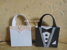 GOMA EVA EN ESPAÑA: bolsas en goma eva personalizadas para bodas