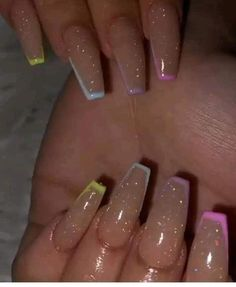 Summer Acrylic Nails Coffin Discover 23 Clear Acrylic Nails That Are Super Trendy 13