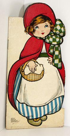 RED Riding Hood 1st Edition C1920 Rare Children'S Dean Marsh Lambert