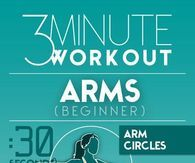 3 Minute Workout For Arms