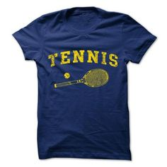 Tennis T Shirts, Hoodies, Sweatshirts. CHECK PRICE ==► https://www.sunfrog.com/Sports/Tennis-T-shirt.html?41382