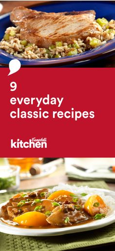 Solve your dinner dilemmas with this delicious collection of 9 everyday classic recipes featuring Campbell's® Condensed Soups. Your family will be particularly fond of the Chicken & Broccoli Alfredo and Beef Taco Skillet dishes.