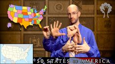 50 States of America - 2nd Edition | ASL - American Sign Language