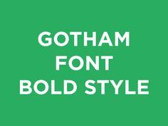 Free Gotham Font - Download Now