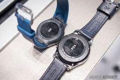 Samsung Gear S3 Leather Strap Seta Dark Blue