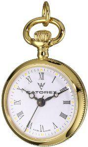 Catorex Women's 675.6.12416.110 Les petites 18k Gold Plated Brass Puppy Picture Back Pendant Watch Catorex. $190.15