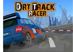 Dirt Track Racer    http://www.greatcargames.com/racing-games/dirt-track-racer-3587.html