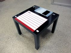 3.5 Floppy Disk Coffee Table. One product has been added to the fun. Do not forget to save your information. Dimension: 55 cm x 55 cm x 45 cm