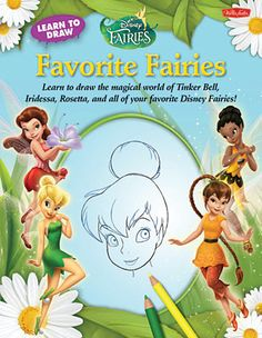 Disney Favorite Fairies Learn to Draw Book