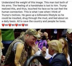 Thank you President Trump. President Trump is definitely a real true human being who loves our America & Americans! Donald Trump, John Trump, Prison, Human Connection, Our President, God Bless America, Faith In Humanity, American Pride, Before Us